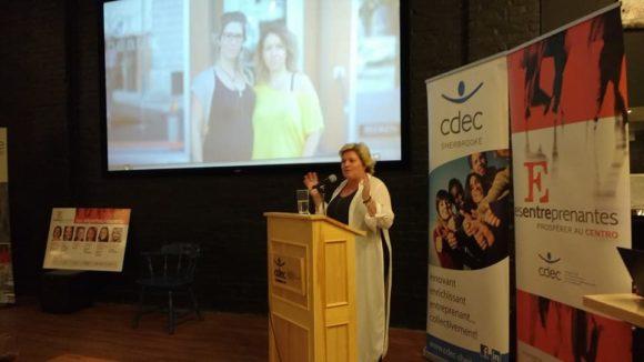 Les Entreprenantes Karole Forand CDEC Sherbrooke