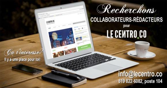 Rédacteurs-collaborateurs pour le Centro.co